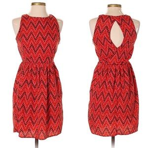 Jack. by BB Dakota    Chevron Sleeveless Dress